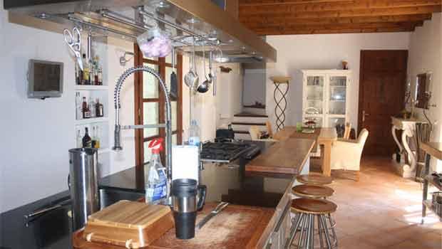 Küche der Finca Sineu