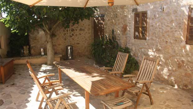 Garten Finca Mallorca