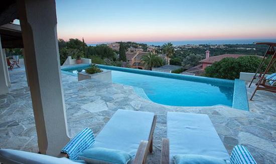 Meerblick Chalet auf Mallorca