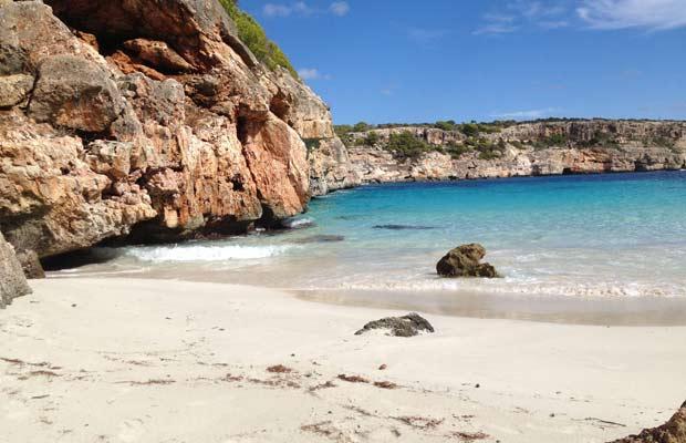 Strand im Süden Mallorcas